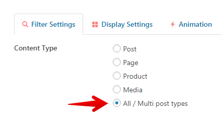 CVP - select all post types